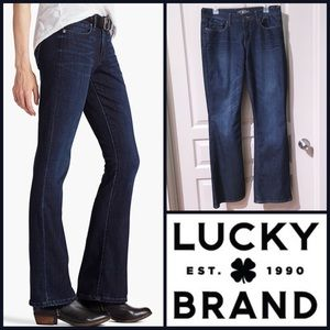 Size 12 (31) Lucky Brand Sofia Boot jeans Like-New